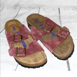 Birkenstock Suede Sandals Size 38